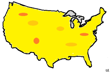 USA the big cheese