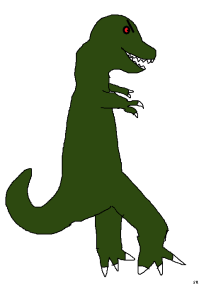 dinosaur trex cartoon